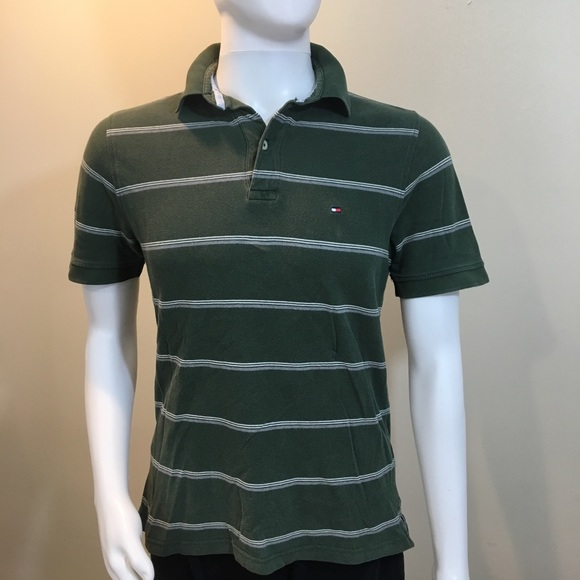 c972dc6d Vintage Men's Tommy Hilfiger Med Green Polo Shirt.  M_5b7a4d83b6a9428ecdb45dd1